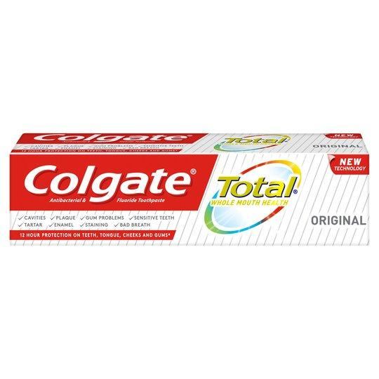 Grocemania Grocery Delivery London| Colgate Total Original Care Toothpaste 75ml