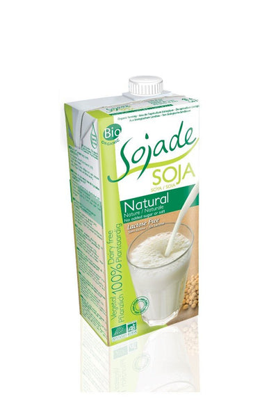Grocemania Grocery Delivery London| Sojade Soya drink Natural 1L