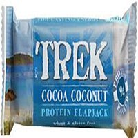 Grocery Delivery London - Trek Cocoa Coconut Protein Flapjack 48g same day delivery