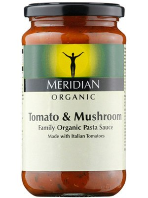 Grocemania Grocery Delivery London| Meridian Tomato & Mushroom Sauce, Organic 440g