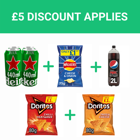 Grocery Delivery London - Match Night Bundle same day delivery