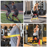 Elastic Resistance Bands for legs workout
