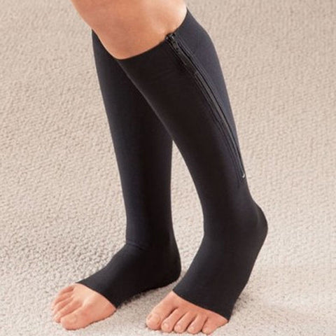 Open Toe Plantar Compression Socks