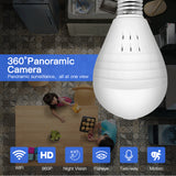 LED Bulb and Wifi Camera