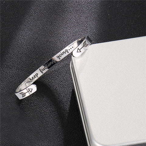 "Empower™ - ""Keep Going"" Bracelet"