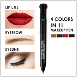 All in One - 4 in 1 Make-up Pen