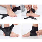 Ankle Support Brace - Adjustable and Elastic