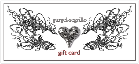 gift card, gift voucher, gift certificate - shop online for art jewelry, art prints by p gurgel segrillo
