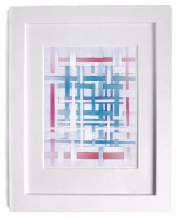 wall art - framed collage by irish-brazilian artist p gurgel-segrillo