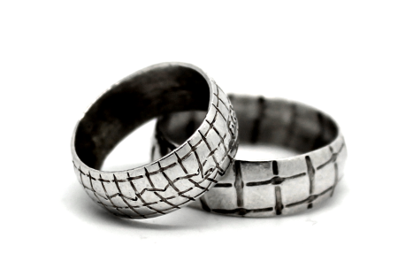 alternative wedding rings handcrafted to order and shipped worldwide from cork city, ireland, created  by jewelry designer gurgel-segrillo, love wins