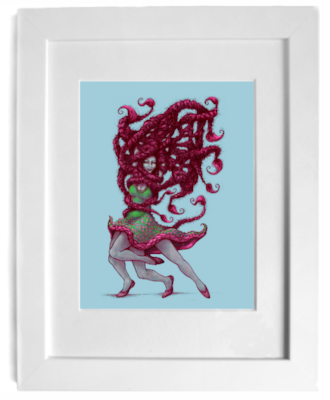 cork city artist gurgel-segrillo - magic realism art print, shop online for art, love art, gift art