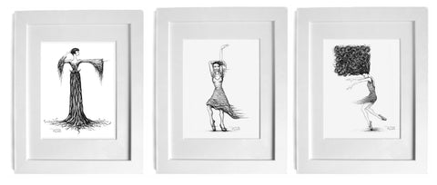 figurative art prints by cork city artist p gurgel-segrillo magic realism