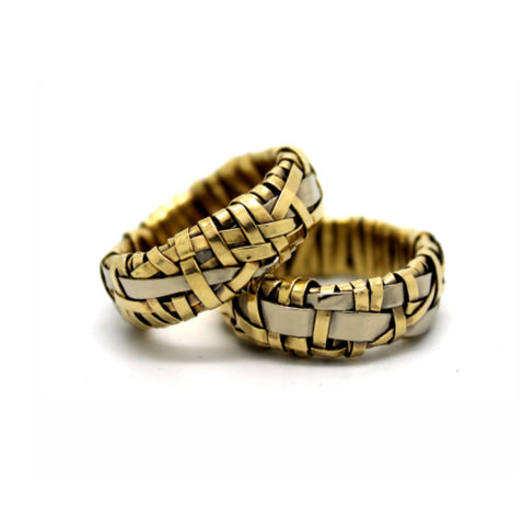 partnership rings by jewellery designer gurgel-segrillo, marriage equality for all, love wins, love is love