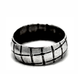 buy designer  rings - hallmarked sterling silver rings by artist designer maker gurgel-segrillo