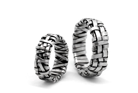 shop for  wedding bands by cork city artist gurgel-segrillo, all ring sizes, love wins