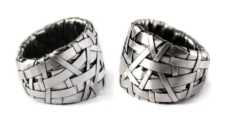 shop for alternative wedding rings by cork city artist patricia gurgel-segrillo