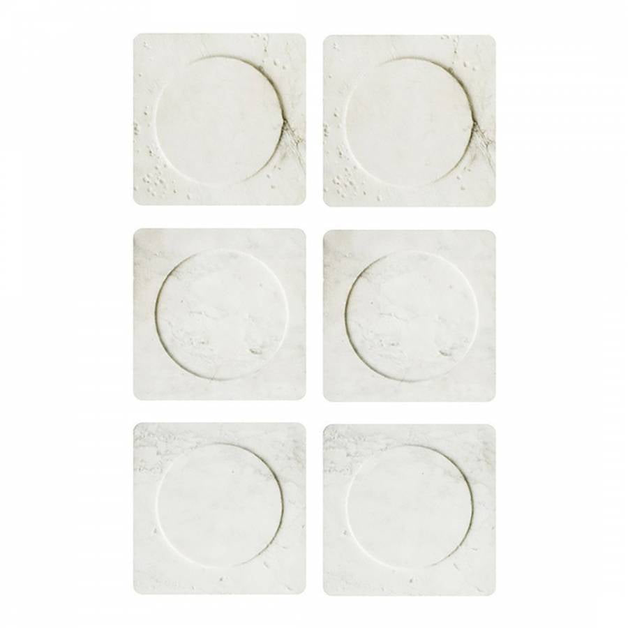 Paris Marble coasters set of 6
