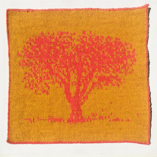 Ash Tree Knitted Panel