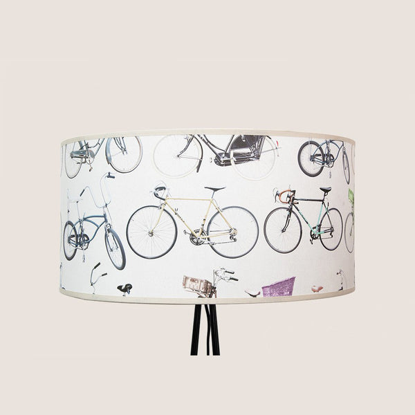 "Bikes of Hackney 20"" lampshade"
