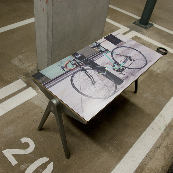James Leonard Side Table in Bikes of Hackney