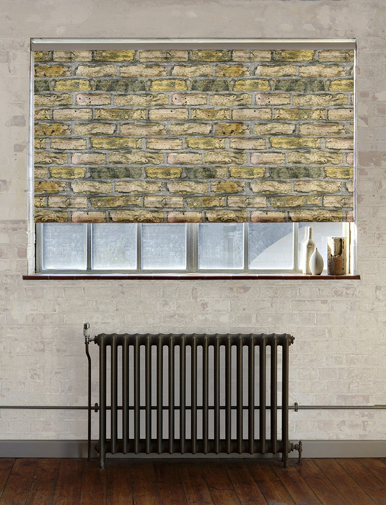 Bricks roller blind