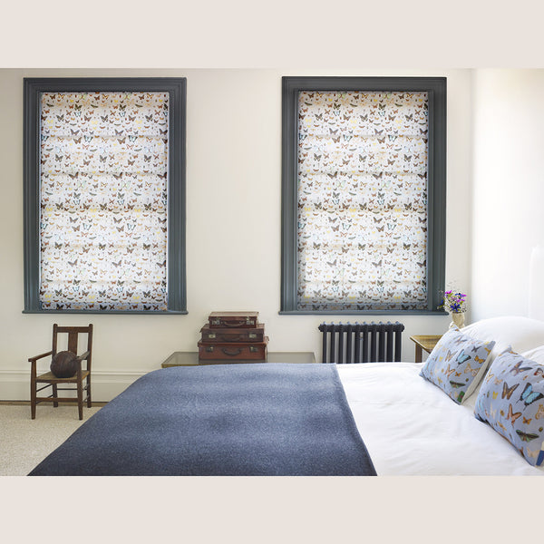 Bugs and Butterflies Roman blind