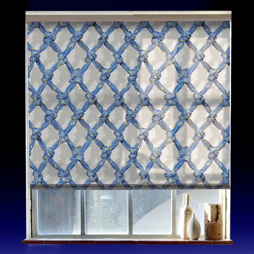 Diamond Rope roller blind