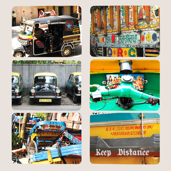 Delhi Days placemats set of 6