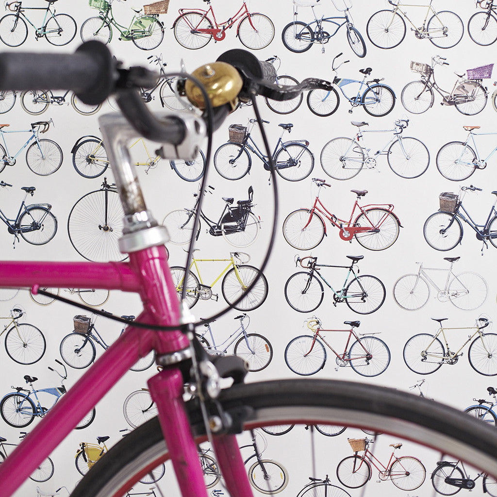 Bikes of Hackney wallpaper