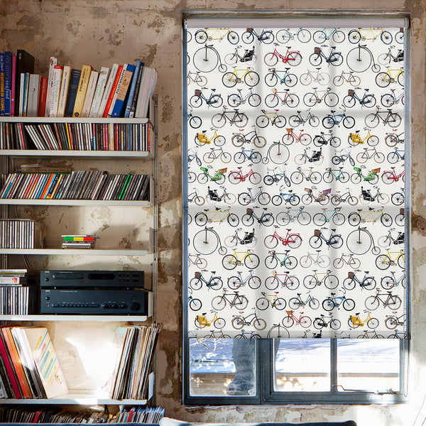 Bikes of Hackney roller blind