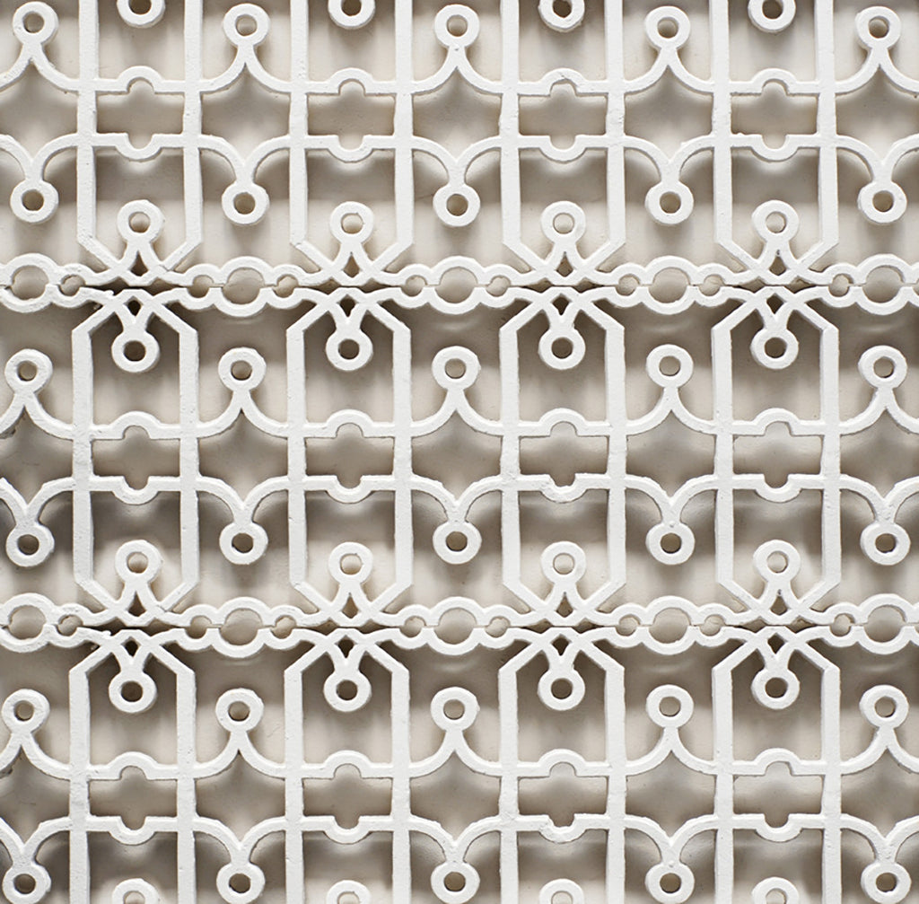 Fretwork roller blind