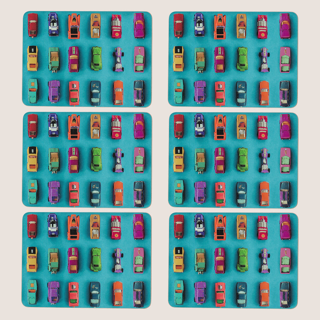Gridlock placemats set of 6