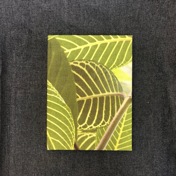 Safari Leaf fabric covered sketchbook