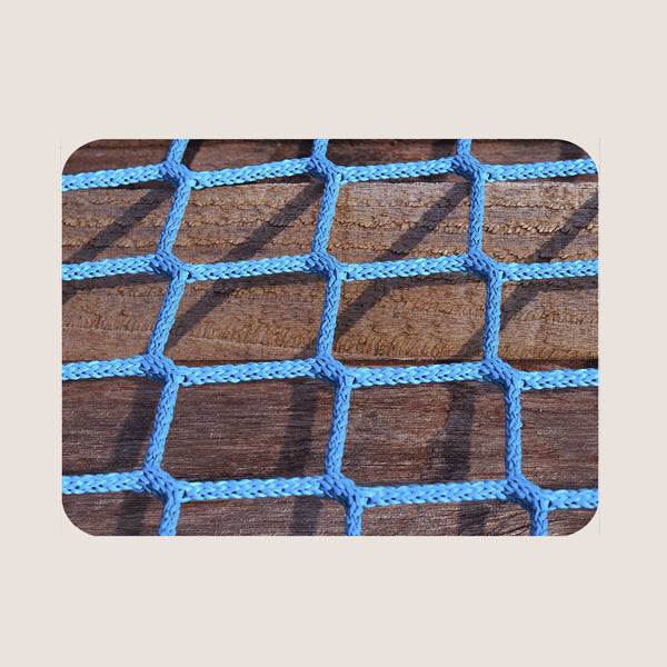 Blue Rope on Wood single placemat