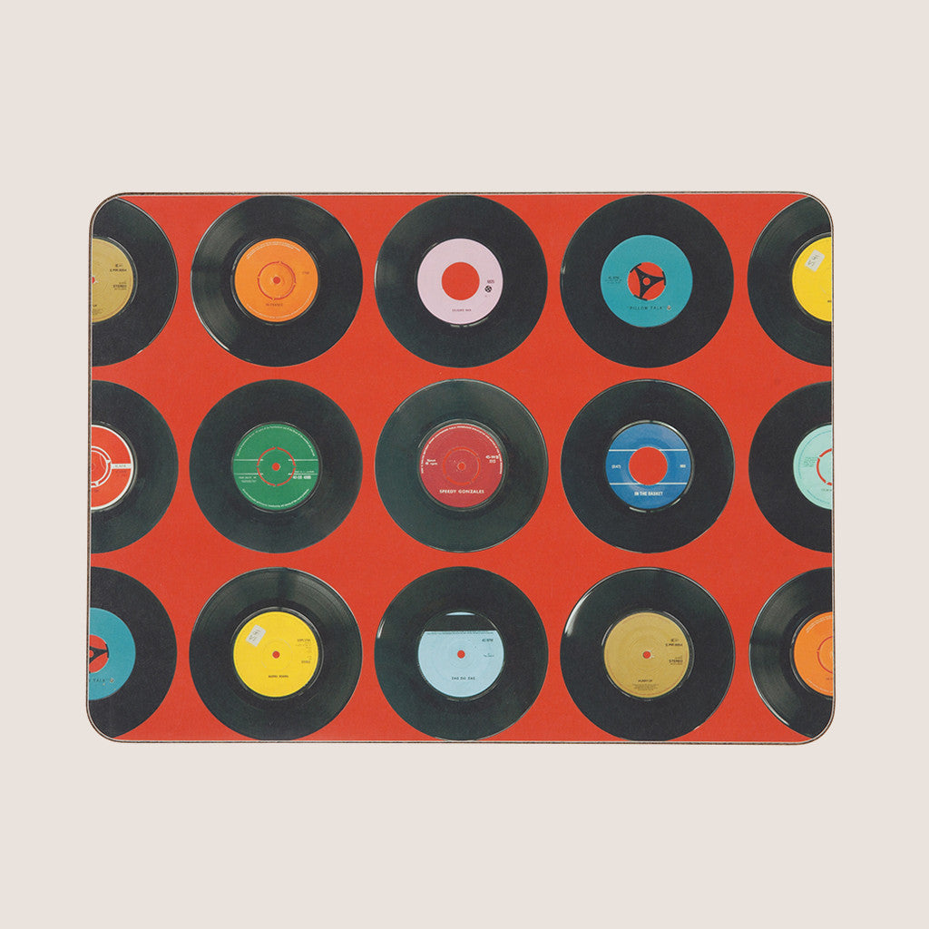 Sevens Red single placemat