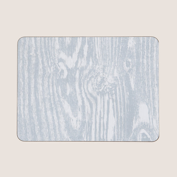 Wood Grain Grey single placemat