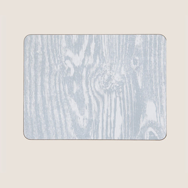 Wood Grain Grey large tablemat