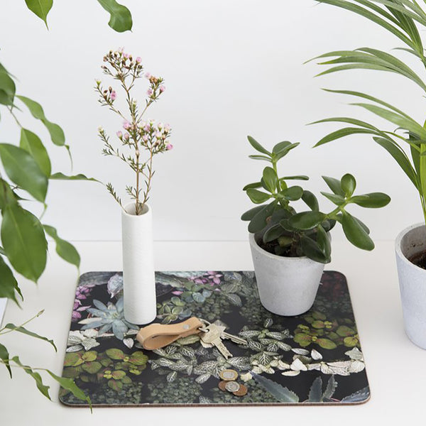 Surreal Succulents large tablemat