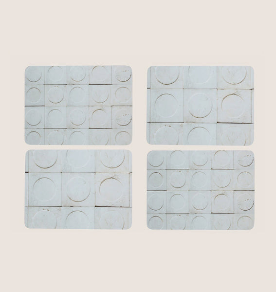 Paris Marble placemats set of 4