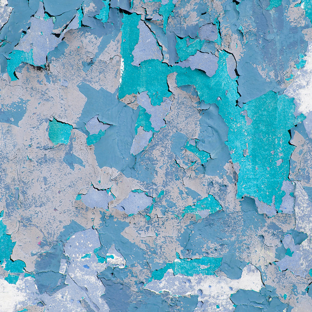 Peeling Paint Blue Hue wallpaper