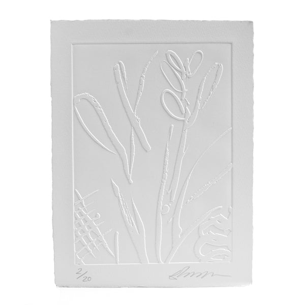 Plant Life Embossed