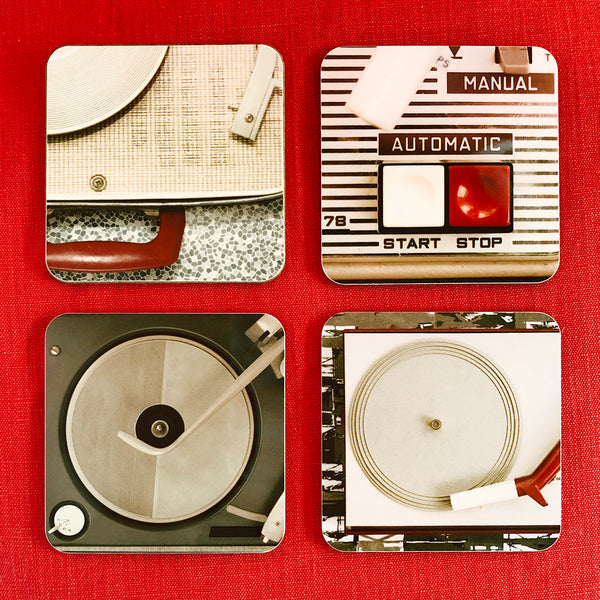 PorTables coasters set of 4