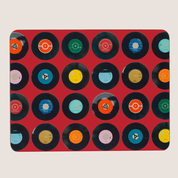 Sevens Red large tablemat
