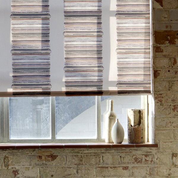 Stacks and Stripes roller blind