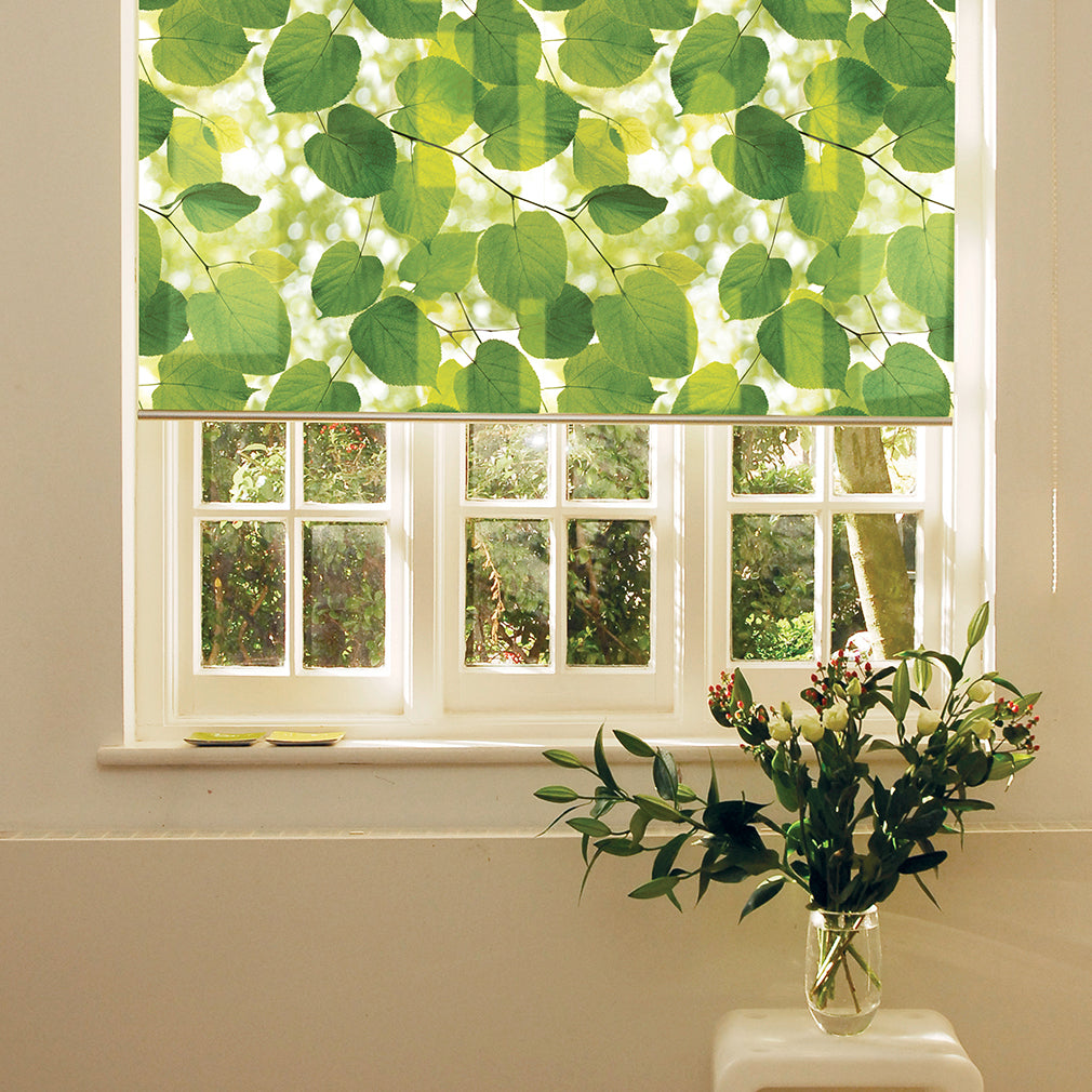 Sunlight Through Leaves roller blind