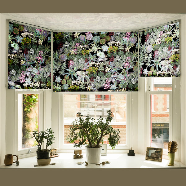Surreal Succulent roller blind