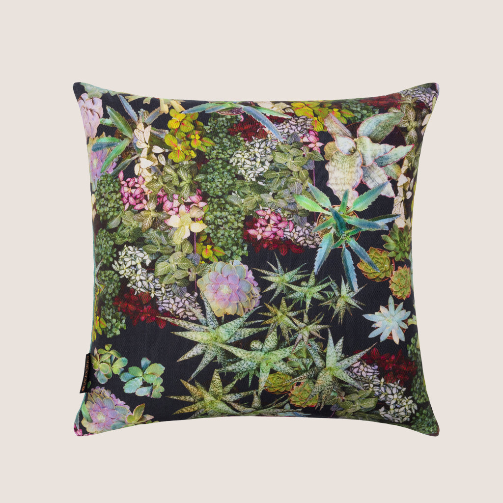 Surreal succulents cushion 40x40