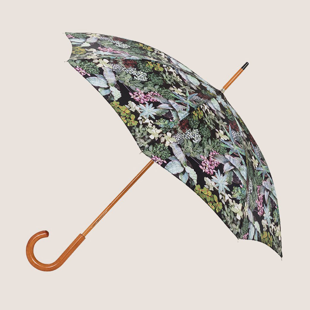 Surreal Succulents Leaves Umbrella - 24""