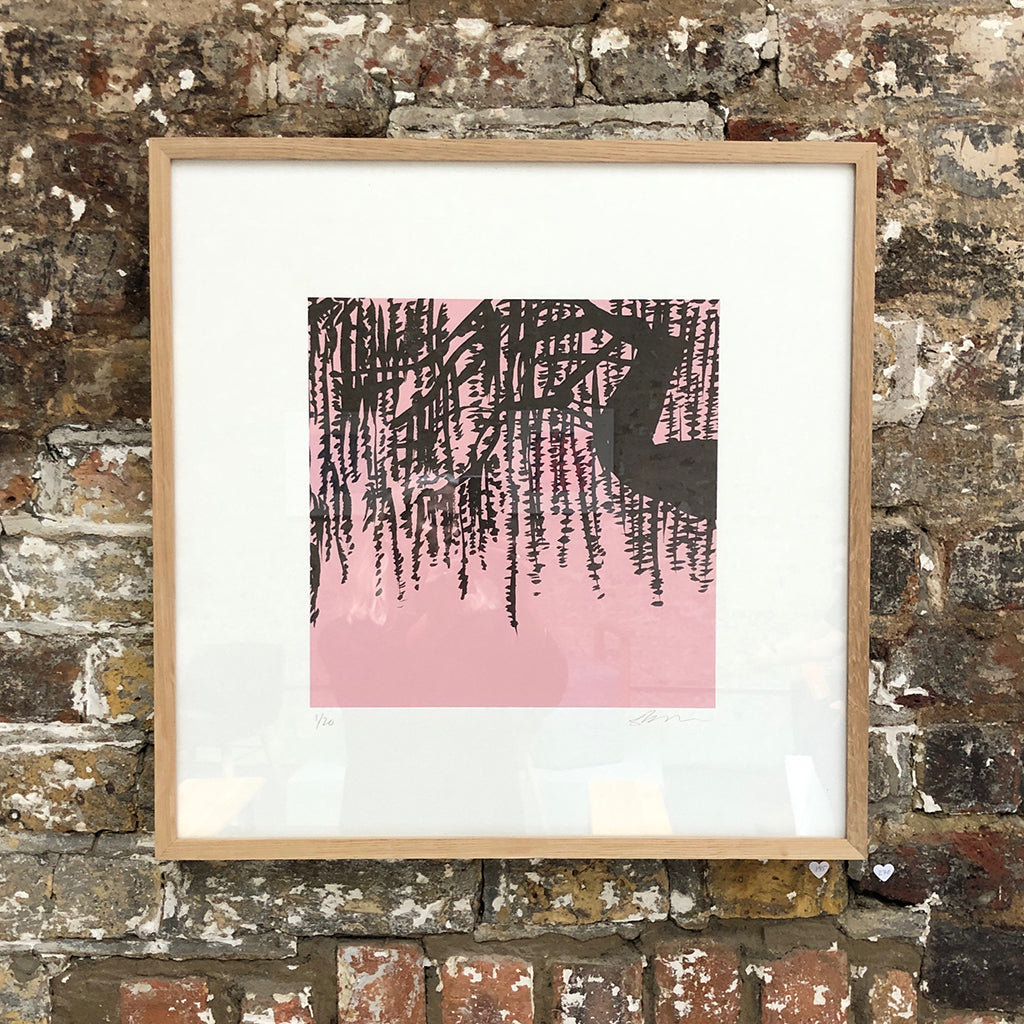 Weeping Willow Screen Print