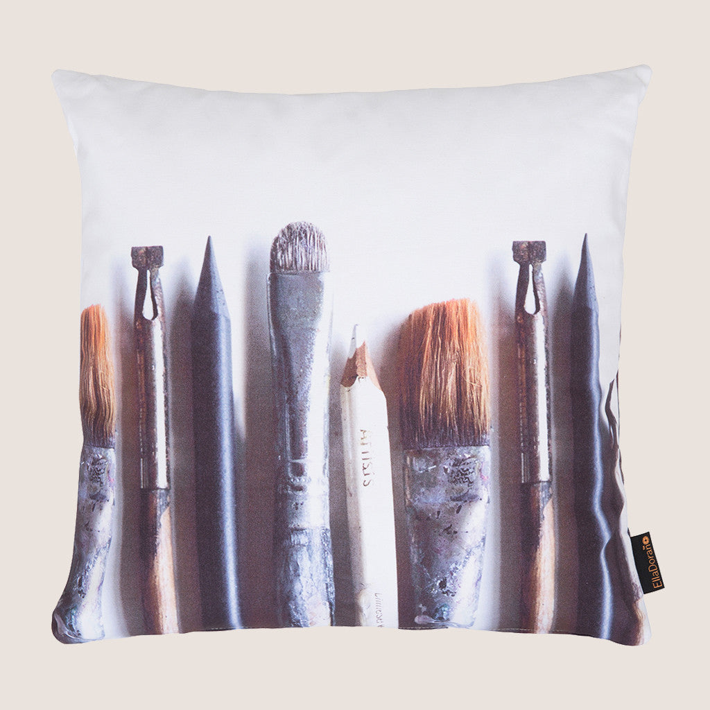 Artist's Tools cushion